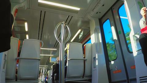 Inside Public Train Line 画像