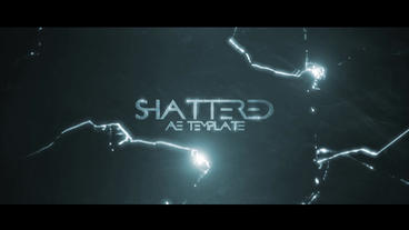 SHATTERED (cinematic intro) After Effects Template