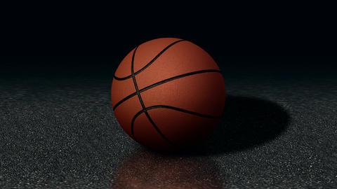 Looped Rotation Around Classic Basketball Ball | Ultra HD 1