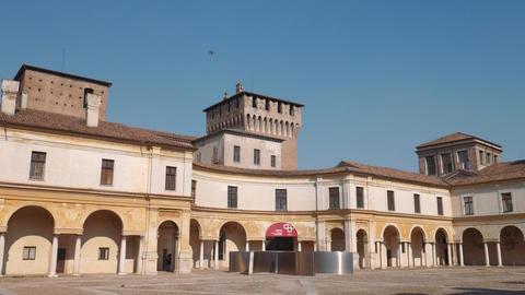 Piazza Castello, Mantua Footage