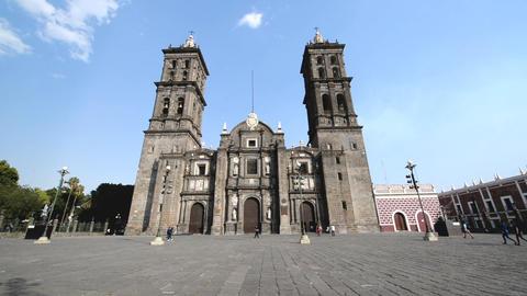 Cathedral in Puebla, Mexico Archivo