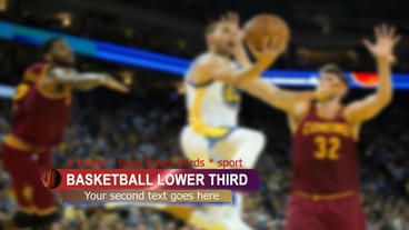 Sport lower third package After Effects Template