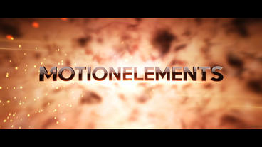 Fiery Cinematic Trailer Titles After Effects Templates