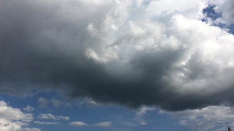 Sky-clouds-summer-20170706-0039 Footage