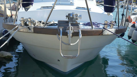 Speedboat Bow View Footage