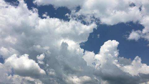 Sky-clouds-summer-20170707-0012 Footage
