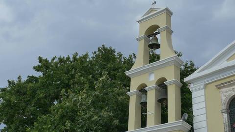 Greek Church Belfry Image