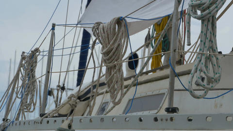 Ropes on Boat Footage