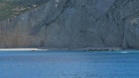 Porto Lefkada Sea Shoreline Footage
