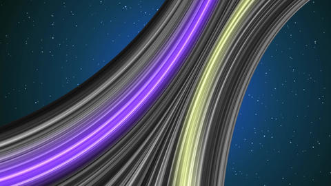 Abstract motion background with multicolor stripes Loop ready animation Animation