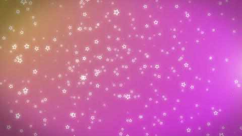 Abstract Seamless Loopable Background with Nice Flying Flowers Motion Background Animation