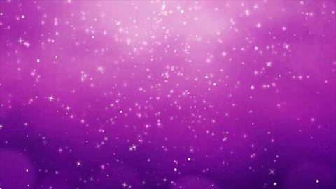 Beautiful Purple particles twinkling flares bokeh sparkles shining looped Abstra 애니메이션