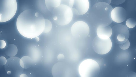 Particles blue dust abstract light bokeh motion titles cinematic background loop Animation