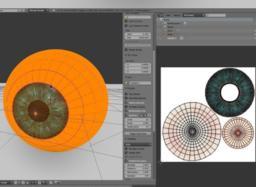 3D Eyeball 3D Modell