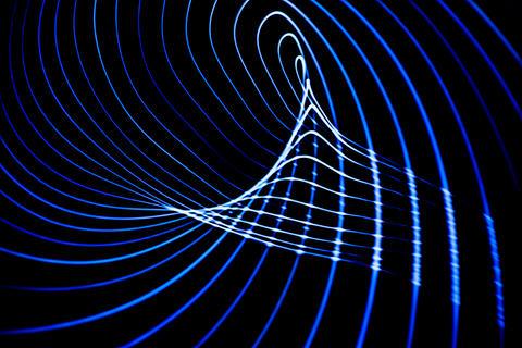 Sound waves in the dark フォト