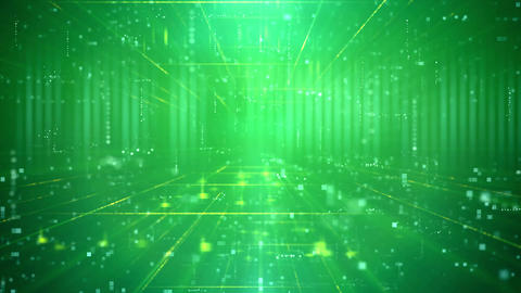 Business Technology Futuristic Digital Backdrop Animation