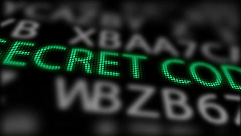 -Secret Code- between searching of passwords Animation