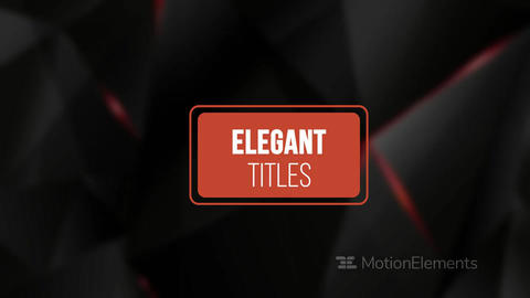 ModernTitles V26 After Effects Template