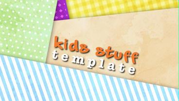 Kids Stuff After Effects Template