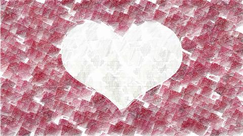Valentines day animated background Animation