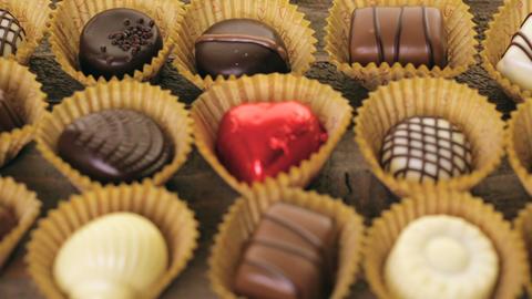 Chocolates Footage