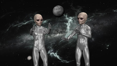 the aliens in Space Animation