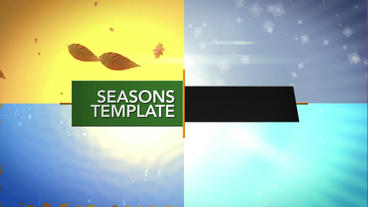 Seasons After Effects Template