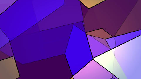Random Changing Geometrical Graphics Shapes Colored Figures Motion Animation Animation