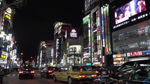Shinjuku Tokyo Japan ビデオ