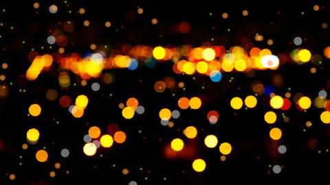 Abstract bokeh lights Footage