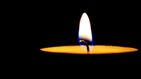 Burning candle cinemagraph Image