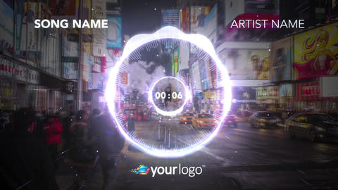 Music Visualizer 02 – After Effects Template After Effects Template