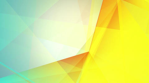 abstraction geometrical colourful composition with triangles Animation