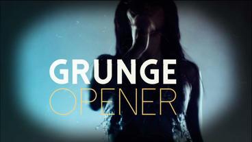 Grunge Opener Plantilla de After Effects
