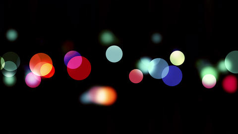 Colourful bokeh Stock Video Footage