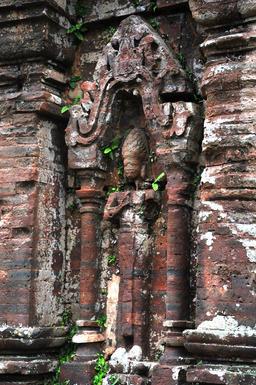 My Son Hindu temple ruins in Vietnam Foto
