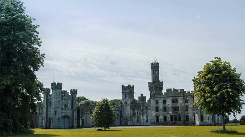 Duckets Grove Castle, Ireland Footage
