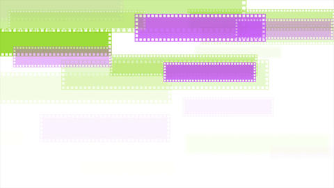 Green and purple minimal geometric video animation Animation