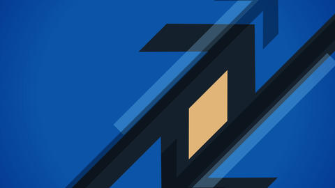 Diagonal arrows flat animation Animation