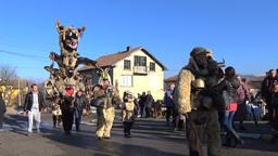 Surva Carnival Grand Parade video stock footage Footage