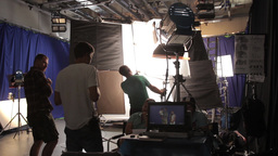 Behind The Scenes Shooting In The Pavilion 0