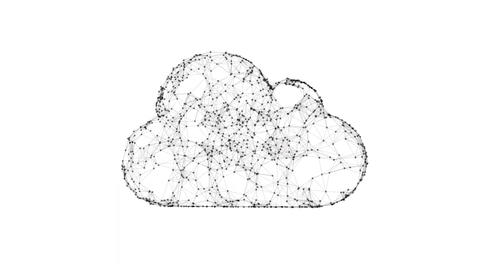 cloud computing, IT concept Footage