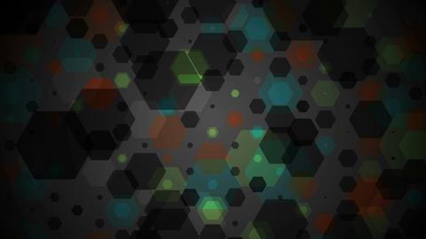 Dark abstract technical video animation Animation