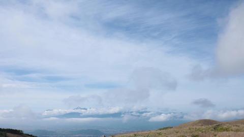 Cloud movement in the plateau ビデオ