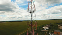 Telephone signal tower Footage