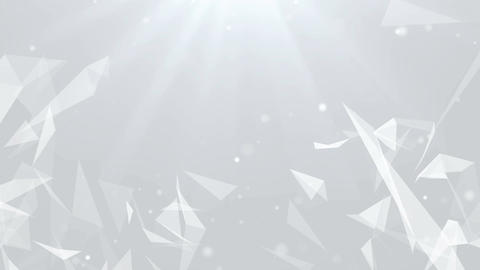 Abstract Clean Particles Background. Loop animation 画像