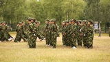 Military Training of Chinese Students 12 Footage