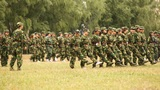 Military Training of Chinese Students 14 Footage