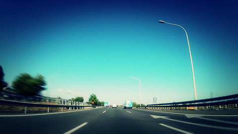 Car trip 09 Stock Video Footage