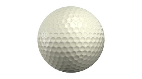 Golf ball Stock Video Footage